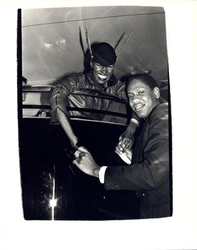 Andy Warhol, 'Andy Warhol, Photo of Grace Jones and Andre Leon Talley at Studio 54 circa 1980', ca. 1980