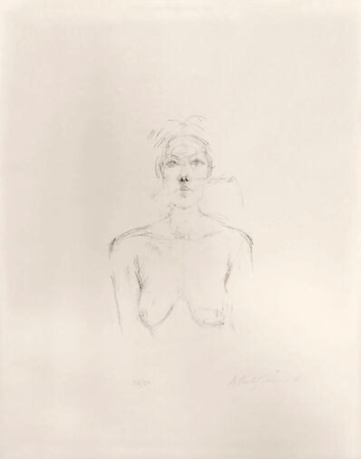 Alberto Giacometti, ' Bust II, (Buste II)', 1960