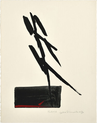 Tōkō Shinoda, 'FLAME (Honou)', n.d, ca. 1970, 80s