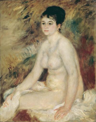 Pierre-Auguste Renoir, 'After the Bath', 1876