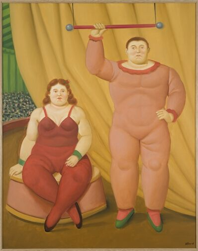 Fernando Botero, 'Circus Couple', 2008