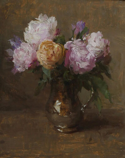 "Michael Klein, '""Pink Peonies in Bloom""', 2018"
