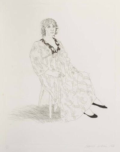 David Hockney, 'Celia', 1969