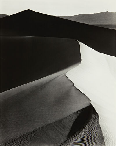 Ansel Adams, 'Sand Dunes, Sunrise, Death Valley National Monument, California, c. 1948', ca. 1948