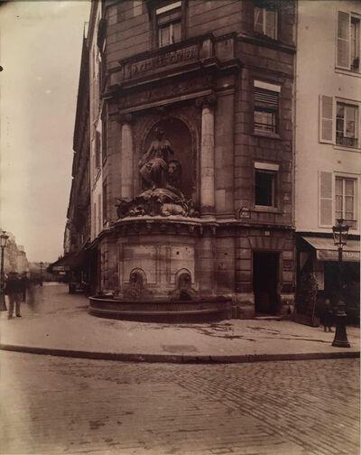 Eugène Atget, 'Fontaine Cuvier, Jardin des Plantes, 5e Arrondissement', 1899-1901