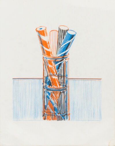 Wayne Thiebaud, 'Glassed Candy', 1980