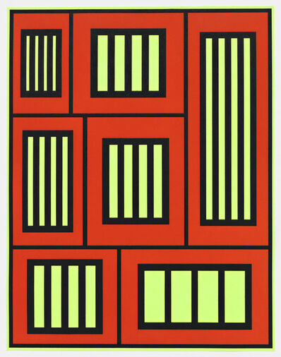 Peter Halley, 'Prisons', 2012