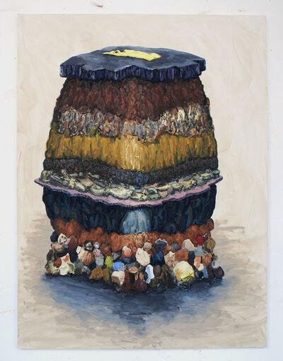 Willem Weismann, 'Soil Profile (egg)', 2012