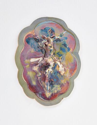 Lucio Fontana, 'Crocifissione', 1955-60