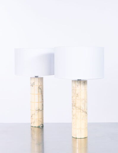 Bitossi, 'Paire de lampes', vers 1950