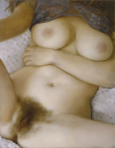 John Currin, 'Purple Bra', 2006
