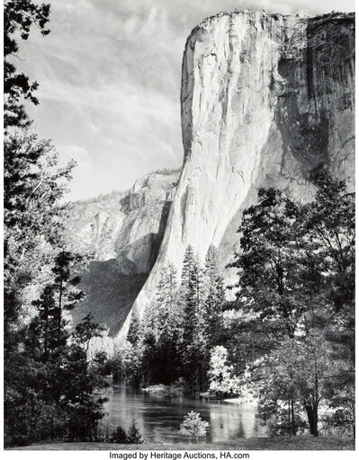 Ansel Adams, 'El Capitan, Merced River, Clouds, Yosemite National Park, California'
