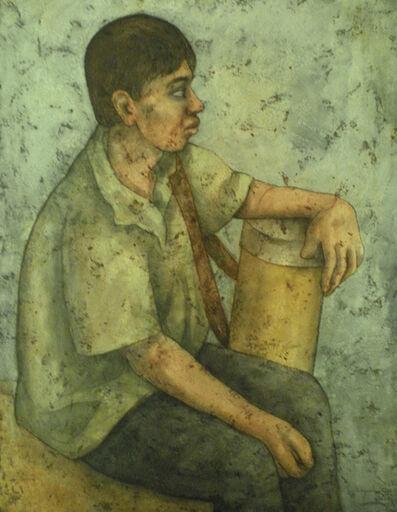 Louay Kayali, 'The Ice Cream Seller', 1960