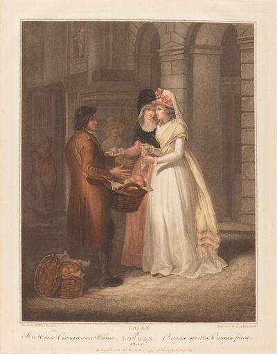 Luigi Schiavonetti after Francis Wheatley, 'Sweet China Oranges', 1794