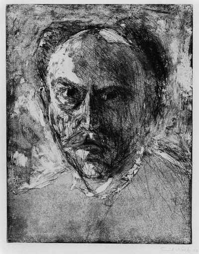 Emil Nolde, 'E.N. (Selbstbildnis) Self-portrait', 1908