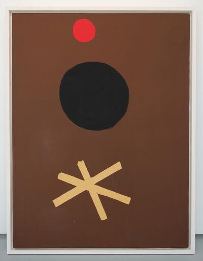 Adolph Gottlieb, 'Asterisk on Brown', 1967