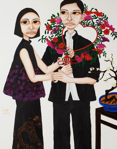 Liu Yi-Lan 柳依蘭, 'Portrait of Beauties - Taming Husband', 2012