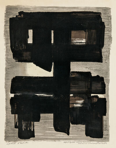 Pierre Soulages, 'Lithographie no 1', 1957