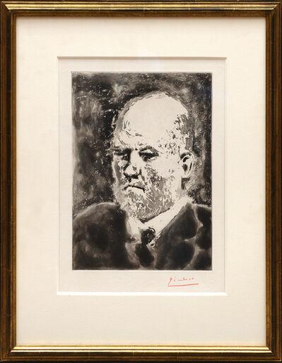 Pablo Picasso, 'Portrait de Vollard I', 1937