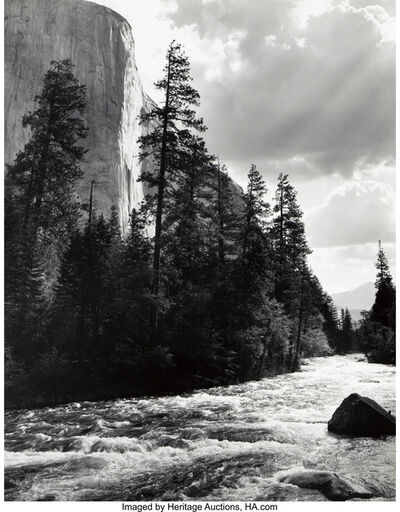 Ansel Adams, 'El Capital, Yosemite National Park, California'