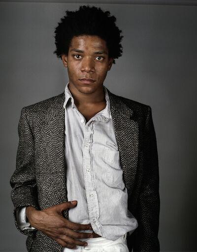 Richard Corman, 'Basquiat A Portrait V', 1984