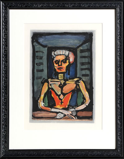 Georges Rouault, 'Veille Courtisane', 1928