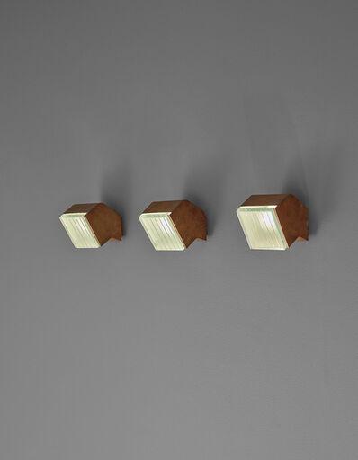 Fontana Arte, 'Set of three wall lights, model no. 2140', ca. 1960