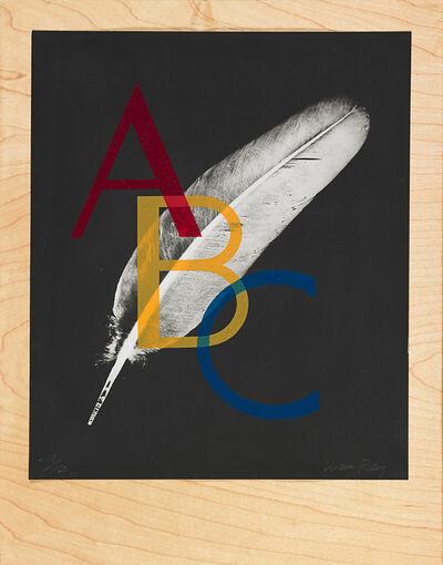 Man Ray, 'Alphabet pour Adultes', 1970