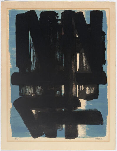 Pierre Soulages, 'Lithographie no.5.', 1957