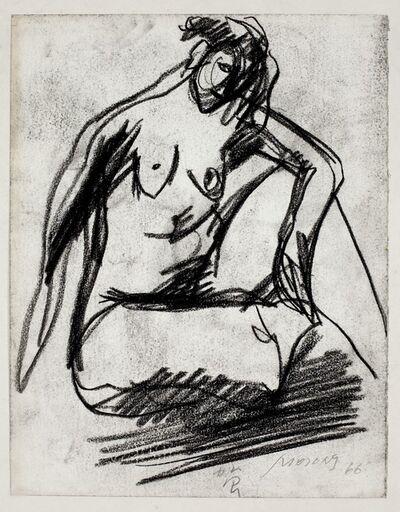Hoo Mojong, '人物之九十三Figure 93', 1966