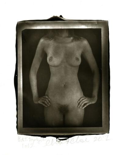 Chuck Close, 'Untitled Torso Diptych', 2012