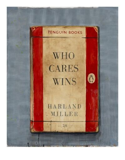 Harland Miller, 'Who Cares Wins (Small)', 2014