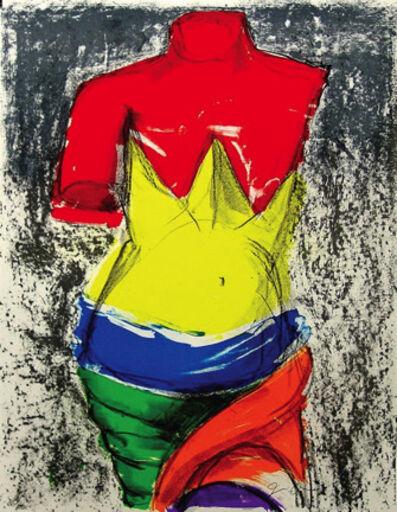 Jim Dine, 'The Bather', 2005