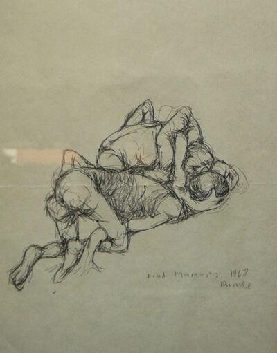 Dumile Feni, 'Fond Memory', 1967