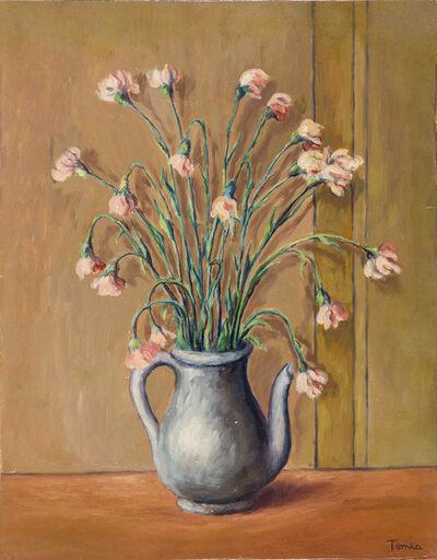 Fiorenzo Tomea, 'Vaso di fiori', Anni '50