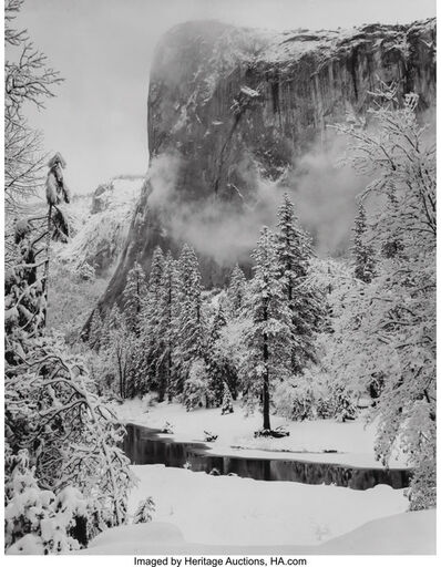 Ansel Adams, 'El Capitan, Winter', 1948