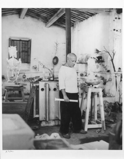 André Villers, 'picasso in studio'