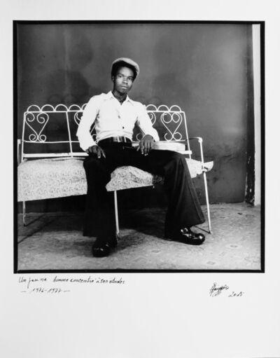 Ambroise Ngaimoko, 'Un jeune homme concentré à ses études '