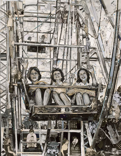 Vik Muniz, 'Album: Ferris Wheel', 2014