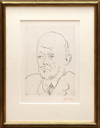 Pablo Picasso, 'Portrait de Vollard III', 1937