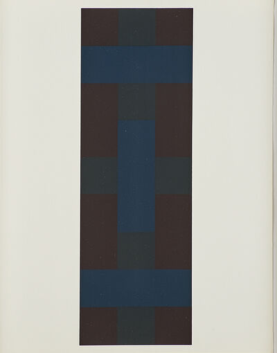 Ad Reinhardt, '# 7 from Ten Screenprints by Ad Reinhardt', 1966