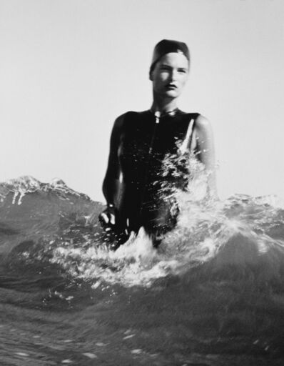 Herb Ritts, 'Lynn in Wave', 1985