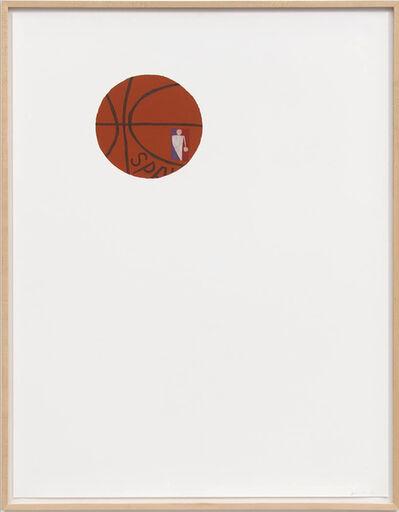 Jonas Wood, 'B Ball Ⅱ', 2010