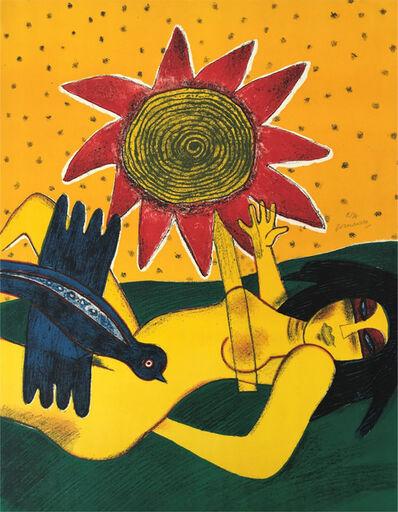 Guillaume Corneille, ' La fleur rouge'