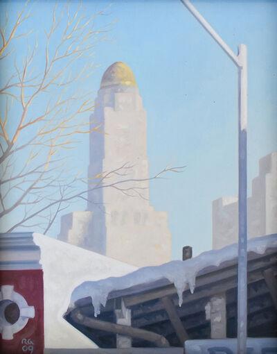 Robert Goldstrom, 'Snow Shed', 2015