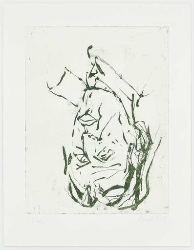 Georg Baselitz, 'Clyfford Still', 2018