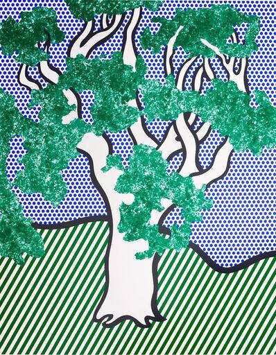 Roy Lichtenstein, 'Rain Forest', 1992