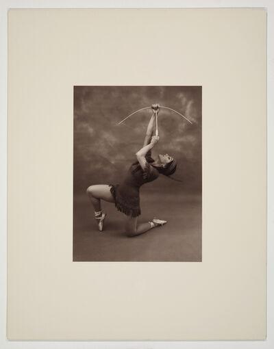 Eleanor Antin, 'Pocahontas (pose 1)', 1976-1977