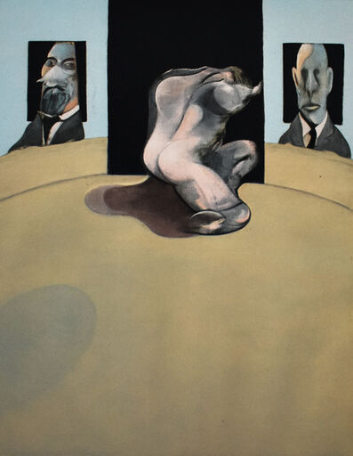 Francis Bacon, 'Central Panel, from: Triptych 1974-1977', 1981