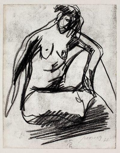 Hoo Mojong, '人物之九十三 Figure 93', 1966